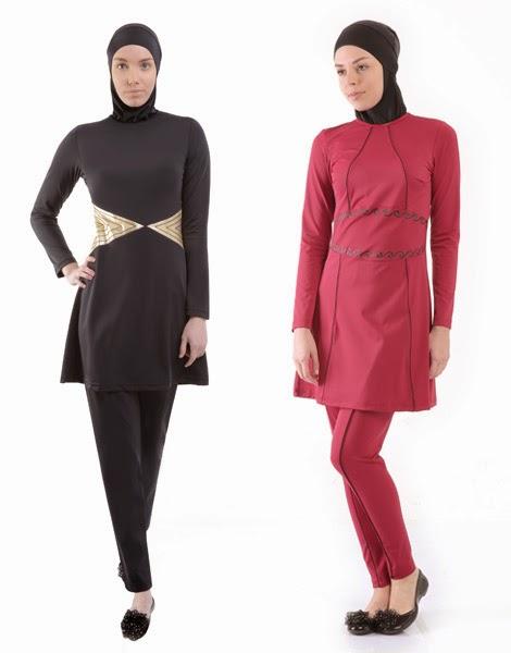 burkini et maillots de bain turques pour femmes en hijab. Black Bedroom Furniture Sets. Home Design Ideas