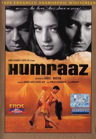 Poster Of Humraaz 2002 Hindi 500MB DVDRip 480p ESubs Free Download Watch Online