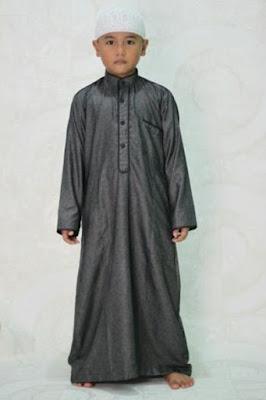 jubah saudi anak laki laki