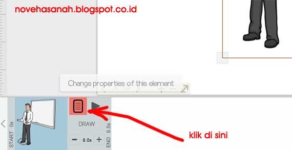 tutorial menggunakan fitur pada tombol menu add image (tambah gambar) sebagai elemen video animasi di VideoScribe 5
