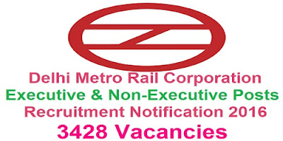 DMRC Recruitment 2016