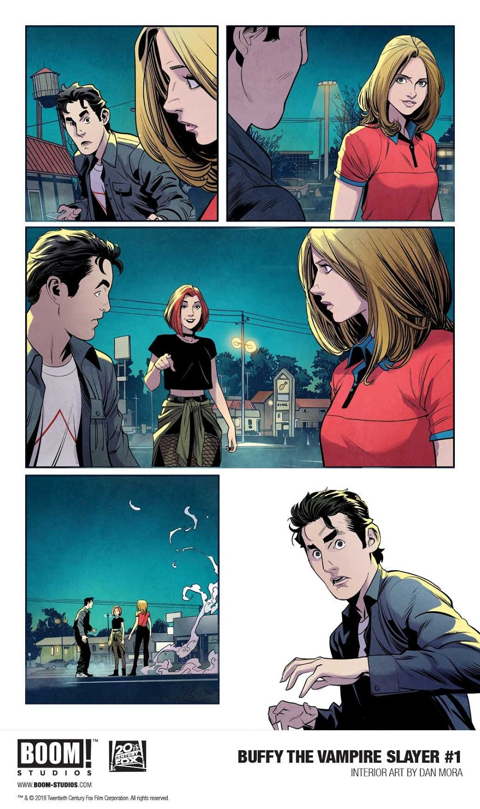 Buffy the Vampire Slayer #1 Preview