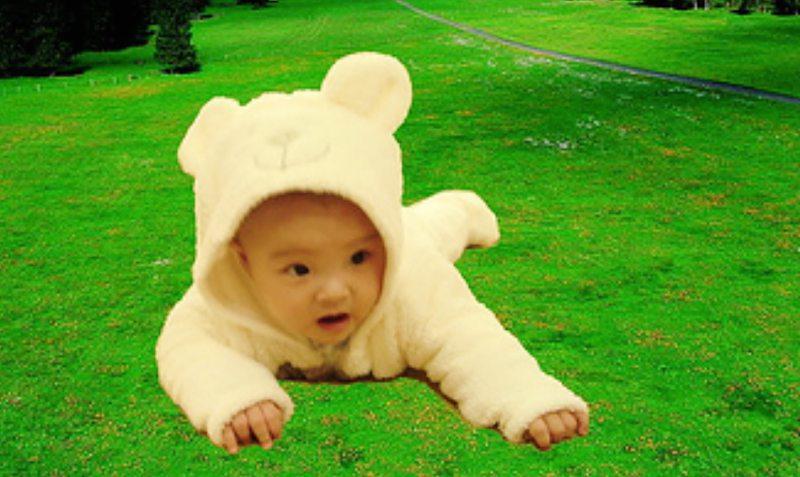 寶貝童話創作|森林裡迷失的小熊