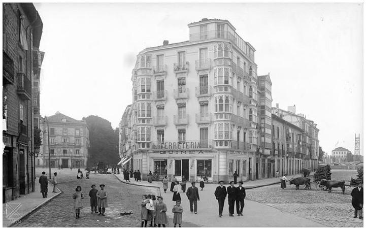 Calle prado hacia 1910 vitoria en fotos for Calle prado 8 madrid