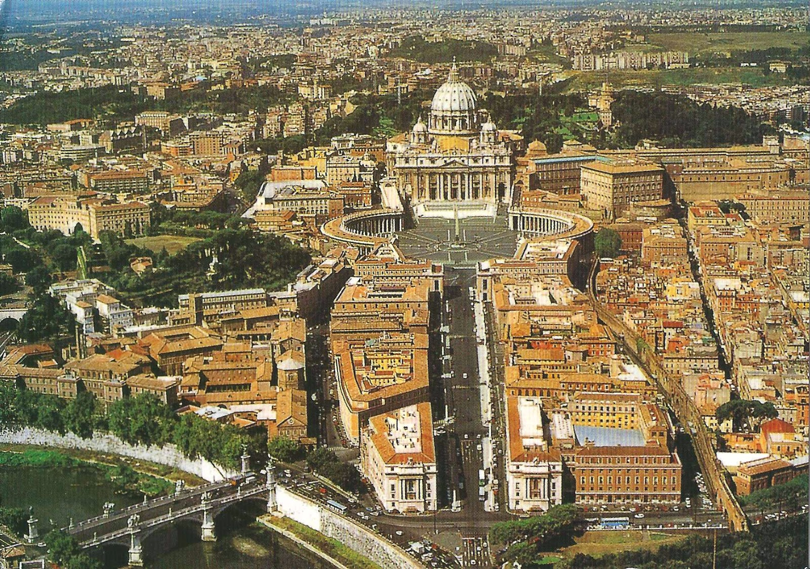 A Journey Of Postcards: St. Peter's Square