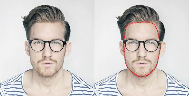 Como saber o formado do rosto masculino (1)