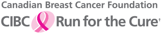 Title block for Run for the Cure