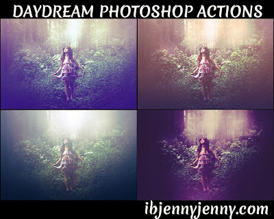 FREE PHOTOSHOP DAYDREAM ACTIONS