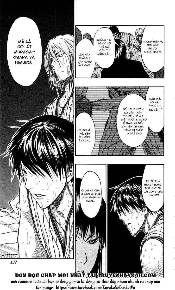Kuroko No Basket chap 160 trang 8