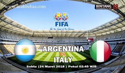 Prediksi Argentina vs Italy 24 Maret 2018