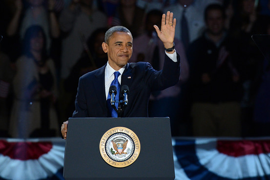 President Obama Re-election Speech