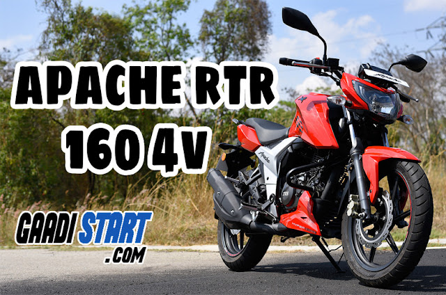 New 2018 TVS Apache RTR 160 4V, Price, Images, Performance, Specification