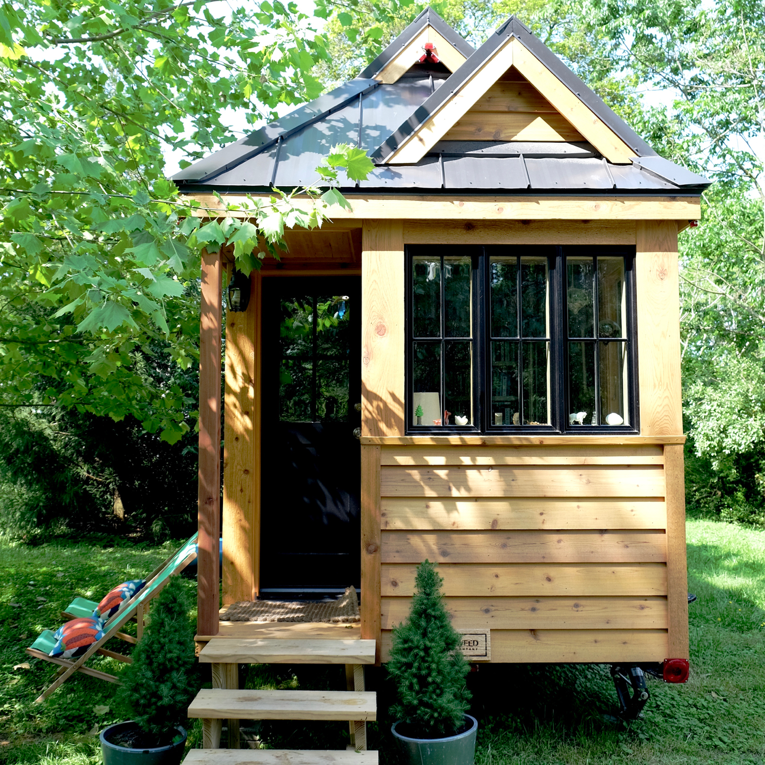 Tiny house town the appalachian tiny house for Cypress house