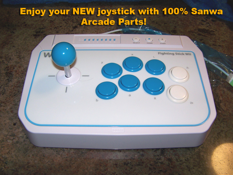 Outdated References: How to Mod the Hori EX2/Hori Wii Fighting Stick