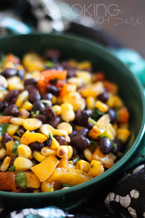Vegan Easy Sweet Corn and Black Bean Salad Recipe