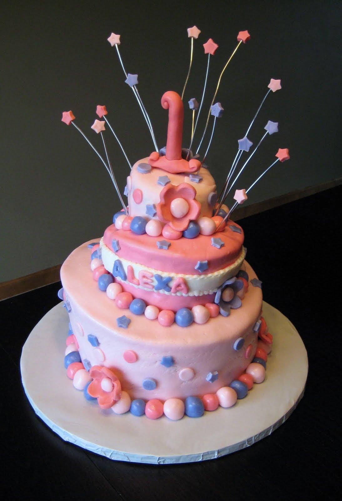 Custom Cakes By Julie Topsy Turvy 1st Birthday Cake