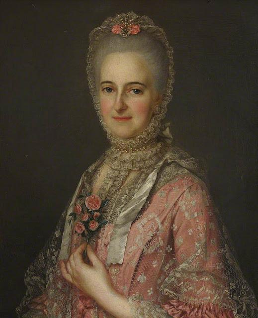Portrait of Jane, née Belchier, Wife of Richard Huddleston