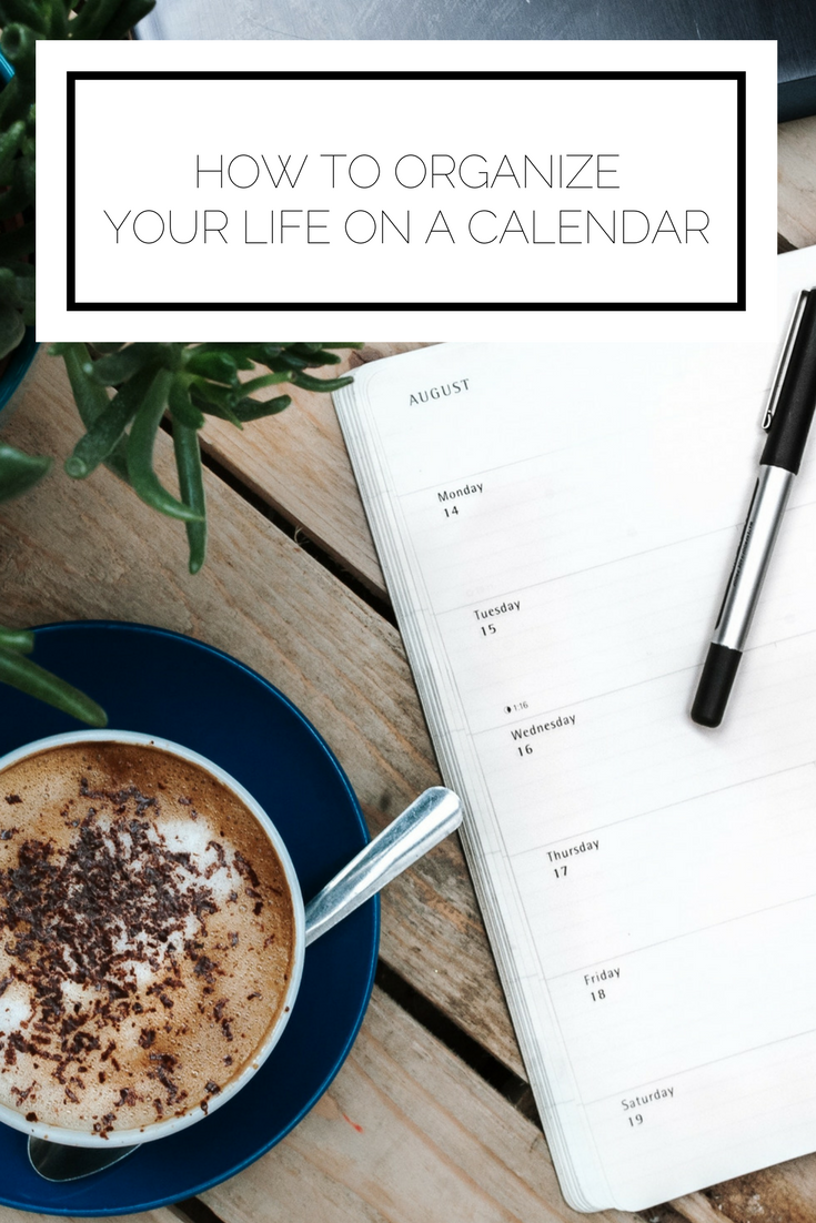 Click to read now or pin to save for later! Here's how to organize your entire life on a calendar, from work to social life to your side projects.