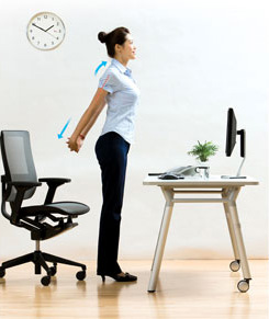 Stand Up From Your Office Chair To Stretch