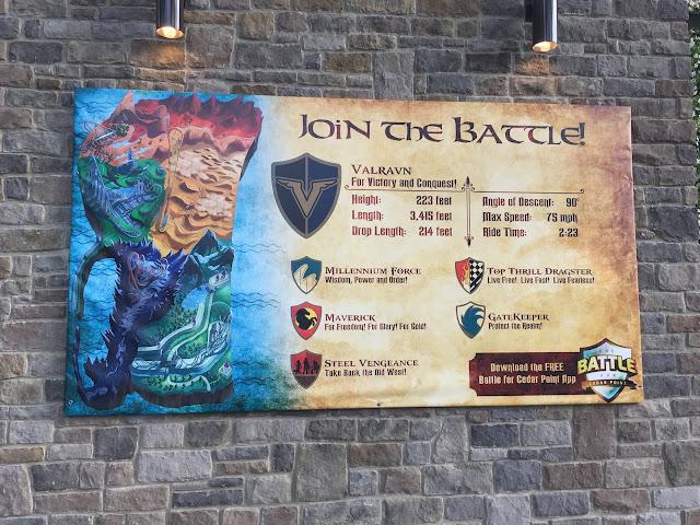 Battle for Cedar Point app game