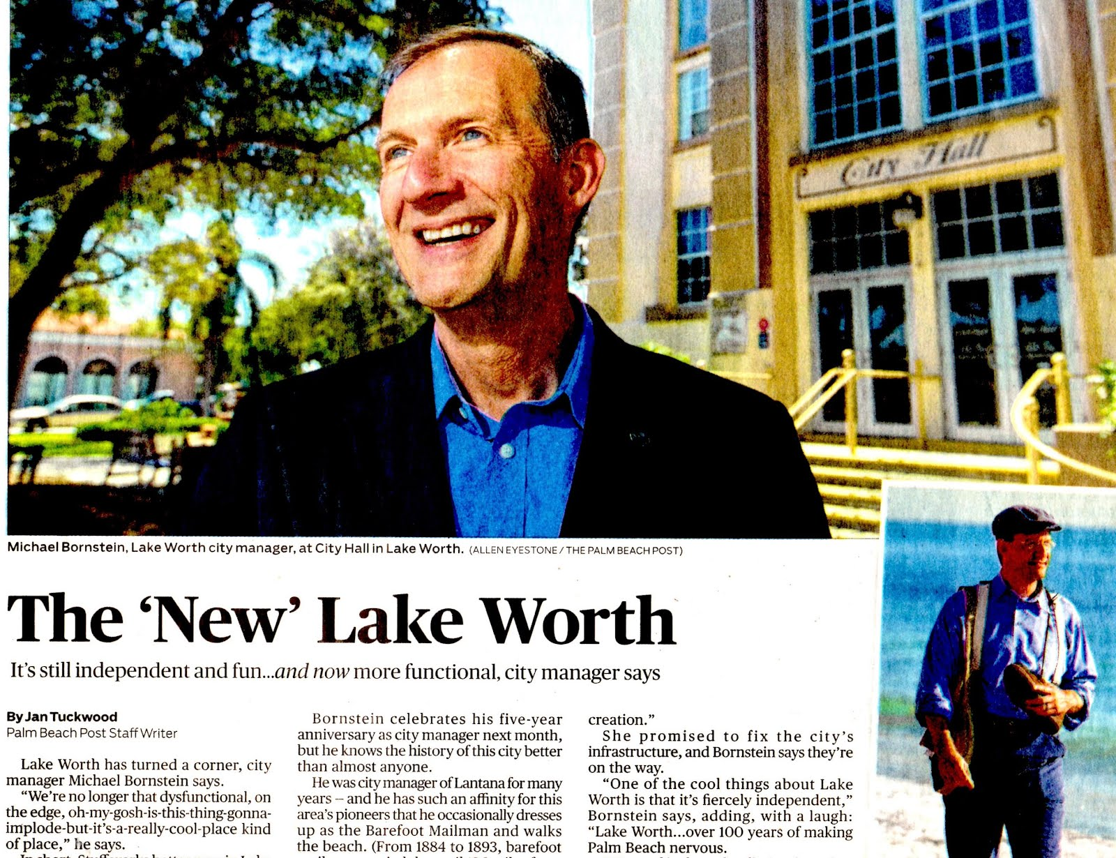 "Making the case: Renaming this City as ""Lake Worth Beach""."