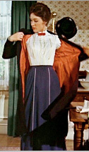 Mary Poppins Travel Dress Costume Tutorial