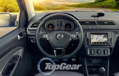 2016 Volkswagen Saveiro Interior