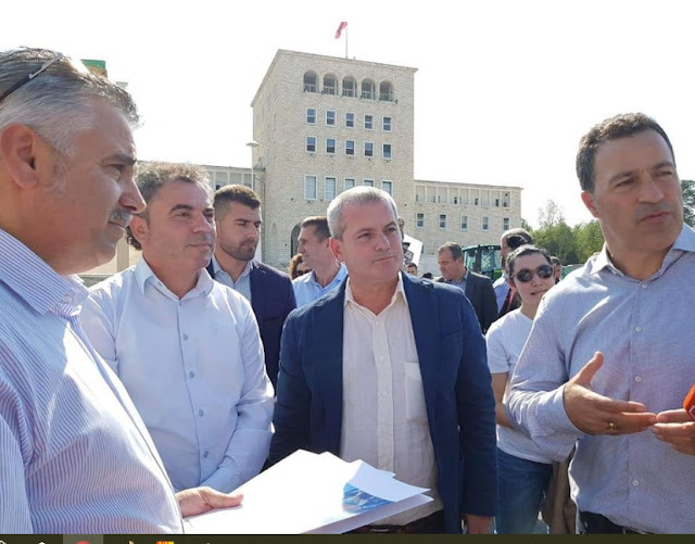 Dibra, Mat, Klosi and Bulqiza at the fair 'Albania Works the Soil'