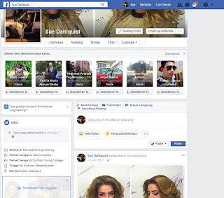 Jual akun facebook Bule Full Foto dan Info
