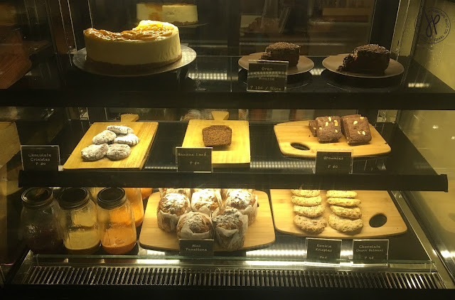 Pastry and dessert counter