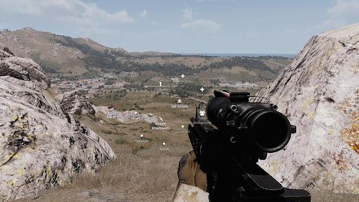 Arma3でアタッチメントの取り外しにアニメーションを追加するMOD