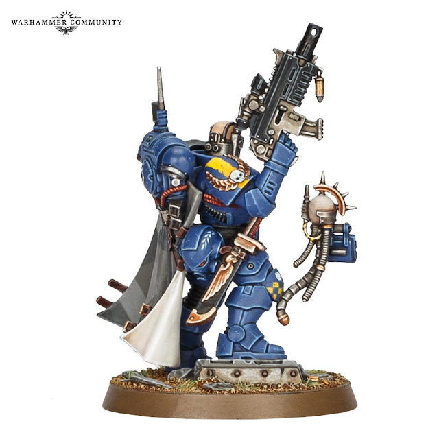 Capitán Acheran Ultramarines