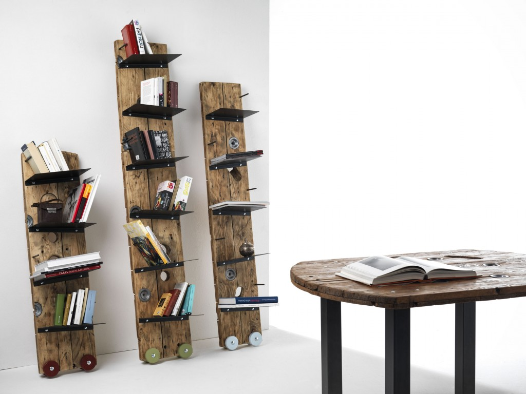4bildcasa ecodesign by sbobina for Arredamento libreria design