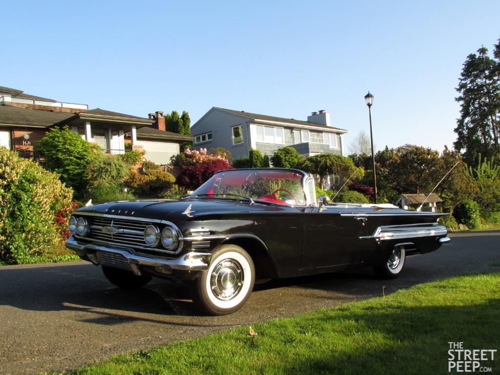 Impala 1960 chevrolet impala ss : THE STREET PEEP: 1960 Chevrolet Impala Convertible