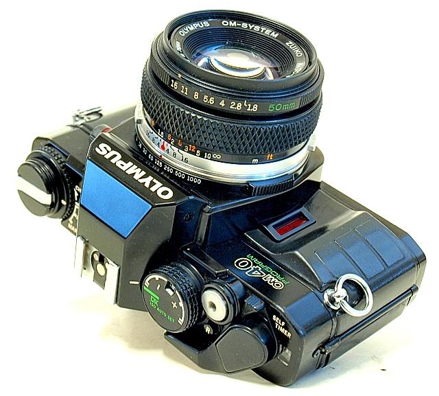 Olympus OM-40 35mm SLR Film Camera
