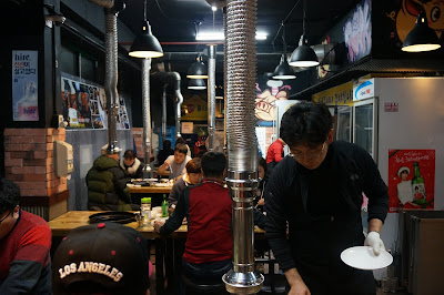 Barbeque restaurant