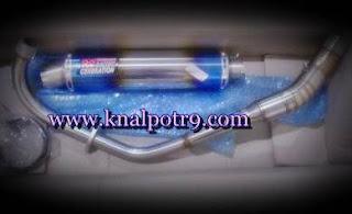 Daftar Harga Knalpot Racing R9 New Vixion Lightning