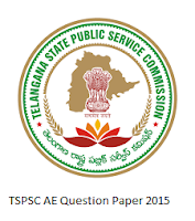 TSPSC AE Question Paper 2015