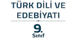 9. Sınıf Türk Dili ve Edebiyatı Sonuç Yayınları