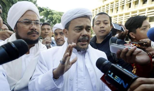 Diperiksa Bareskrim, Habib Rizieq Ingin Kasus Ahok Segera Disidangkan