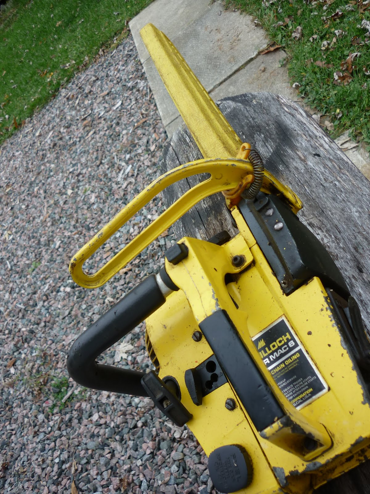 VINTAGE CHAINSAW COLLECTION: MCCULLOCH GROUP OF SAWS