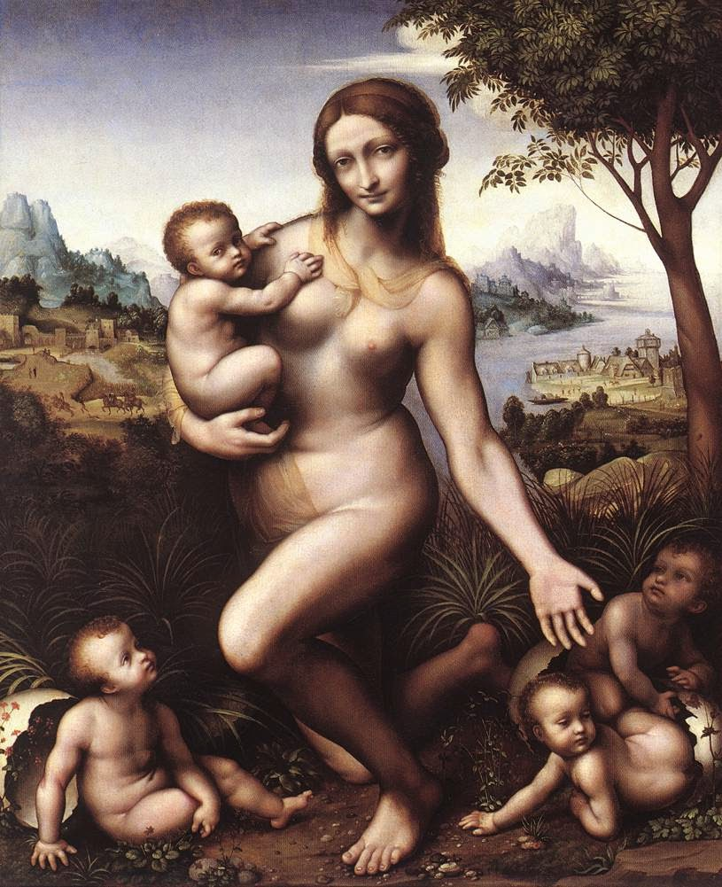 Leda - Leonardo Da Vinci | O maior artista de todos os tempos