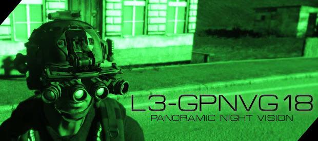 4ツ目の暗視装置を実装するarma3用の L3 GPNVG-18 アドオン