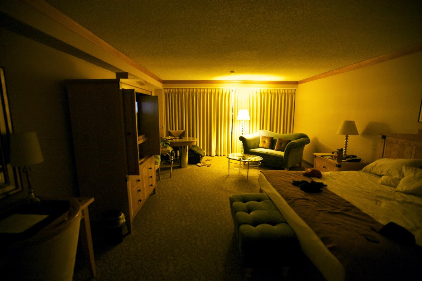 Bally's Hotel Room