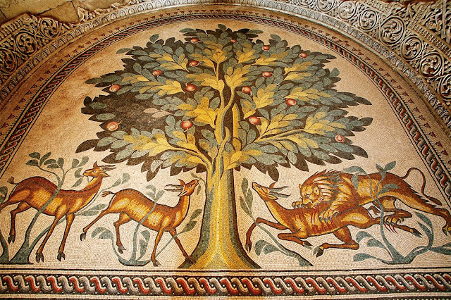One of the world's largest floor mosaics to be opened to public in Jericho