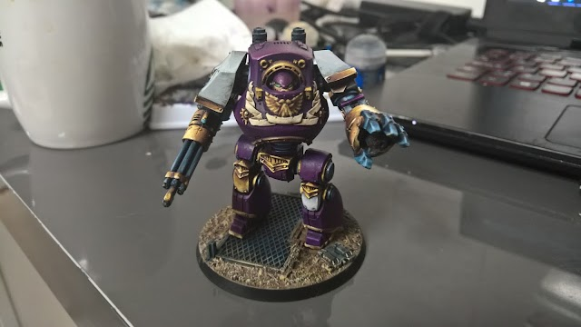 What's On Your Table: Betrayal at Calth Contemptor Dreadnought