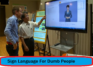 sign language for dumb people
