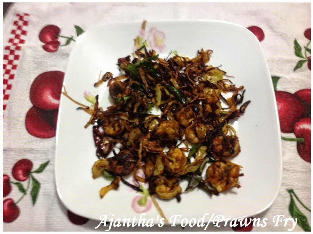Ajantha's Food/Prawns Fry
