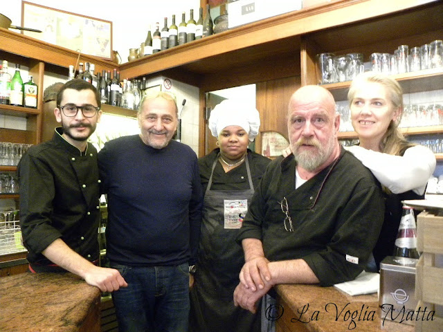 Buffet Benedetto a Trieste staff