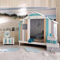 habitación casita en la playa